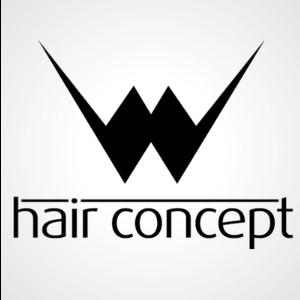 W Hair Concept İşletme Logosu