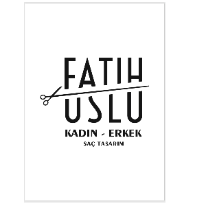 Fatih Uslu Saç Tasarım  İşletme Logosu