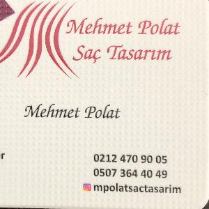 Mehmet Polat Saç Tasarım İşletme Logosu